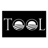 Obama is a Tool Rectangle Sticker 10 pk)