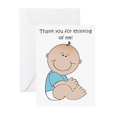 Thank You Boy Greeting Card