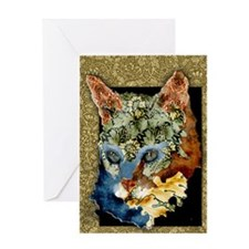 Cat Collages 2 Greeting Card