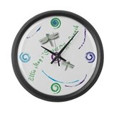 Ellie May's Large Wall Clock