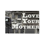 Love Your Mother (board) Rectangle Magnet