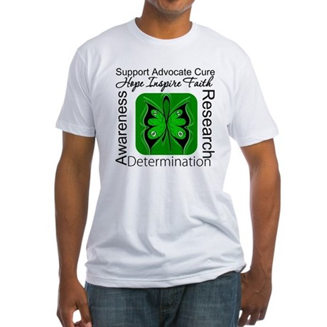 Stem Cell Transplant HOPE Fitted T-Shirt