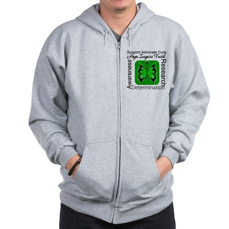 Stem Cell Transplant HOPE Zip Hoodie