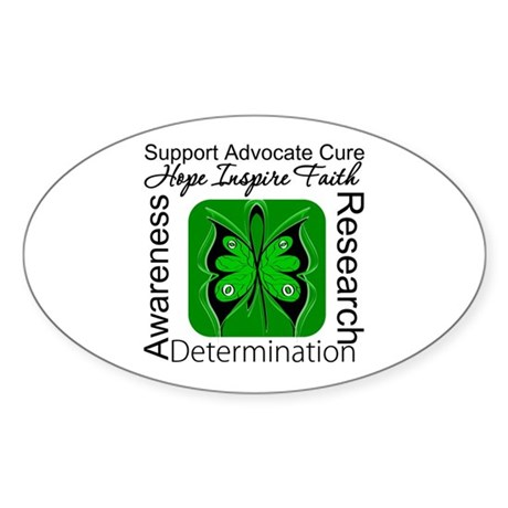 Stem Cell Transplant HOPE Oval Sticker (50 pk)