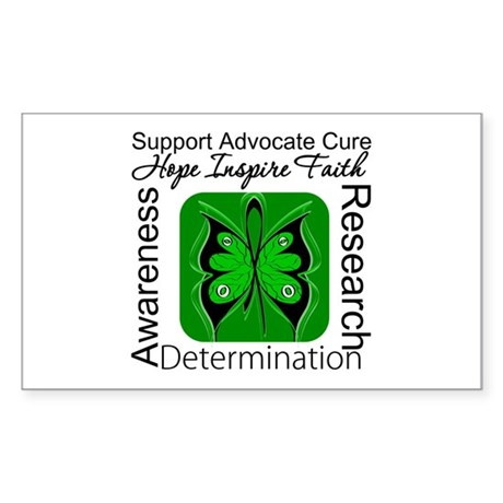 Stem Cell Transplant HOPE Rectangle Sticker 10 pk