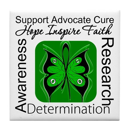 Stem Cell Transplant HOPE Tile Coaster