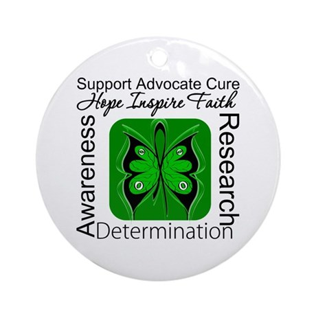 Stem Cell Transplant HOPE Ornament (Round)