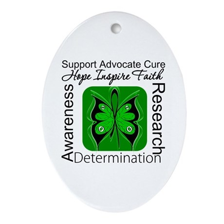 Stem Cell Transplant HOPE Oval Ornament