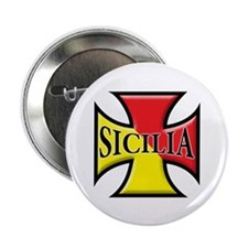 "Sicilian Pride 2.25"" Button (10 pack)"