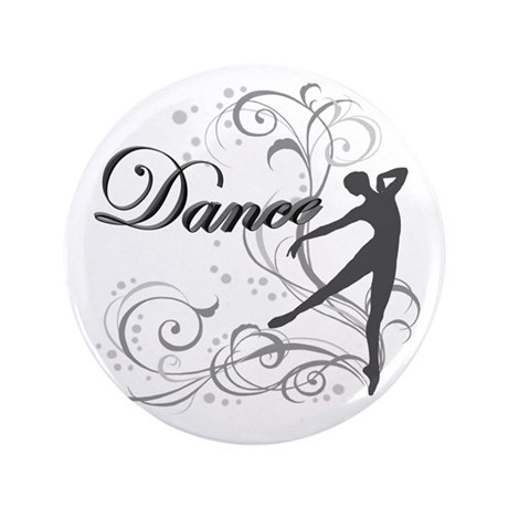 "Dance 3.5"" Button (100 pack)"