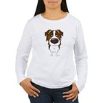 Big Nose Aussie Women's Long Sleeve T-Shirt