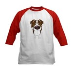 Big Nose Aussie Kids Baseball Jersey