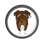 Big Butt Aussie Wall Clock