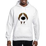 Big Nose Beagle Hooded Sweatshirt