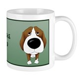 Big Nose Beagle Dad Mug