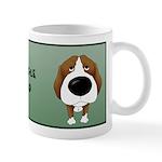 Big Nose Beagle Dad Mug