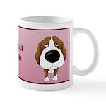 Big Nose Beagle Mom Mug