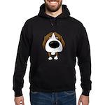 Big Nose Beagle Hoodie (dark)