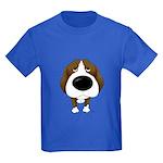Big Nose Beagle Kids Dark T-Shirt