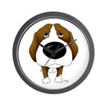 Big Nose Beagle Wall Clock