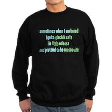 Glechik Cafe Sweatshirt (dark)