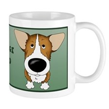 Big Nose Corgi Dad Small Mug
