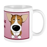 Big Nose Corgi Mom Small Mug