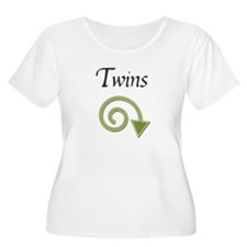 Twins Arrow Maternity T-Shirt