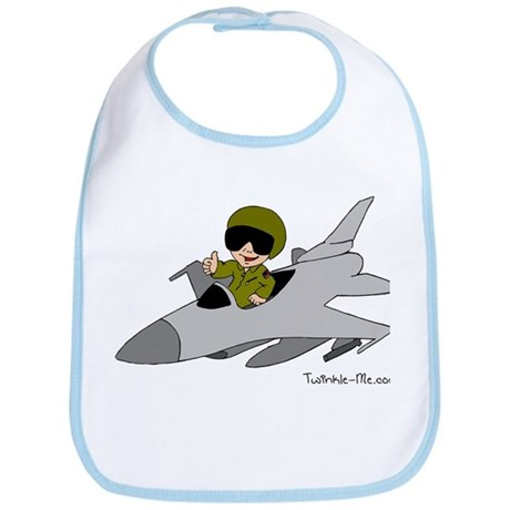 Child Fighter Jet Pilot Bib