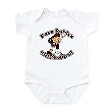 PASO ROBLES GIRLS SOFTBALL (8 Infant Bodysuit