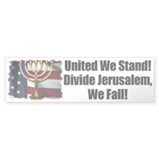 United We Stand! Bumper Bumper Sticker