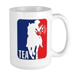 Tea Party Paul Revere Logo Large Mug
