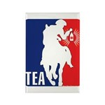 Tea Party Logo Rectangle Magnet