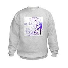 Ballet - scroll Sweatshirt
