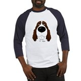 Big Nose Springer Spaniel Baseball Jersey
