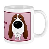 Big Nose Springer Spaniel Mom  Tasse