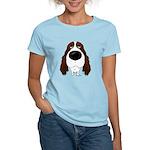 Big Nose Springer Spaniel Women's Light T-Shirt