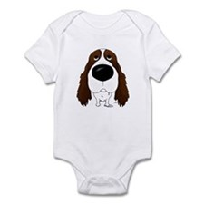 Big Nose Springer Spaniel Infant Bodysuit