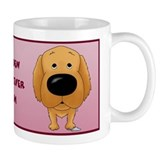 Golden Retriever Mom Big Nose Mug