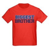 biggest brother t-shirt varsity T