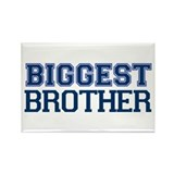 biggest brother t-shirt varsity Rectangle Magnet