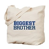 biggest brother t-shirt varsity Tote Bag