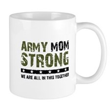Army Mom Strong 2 Small Mug