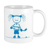 Ice Princess (blue) Small Mug