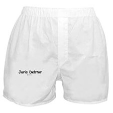 Juris Debtor -  Boxer Shorts