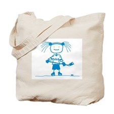 Ice Princess (blue) Tote Bag