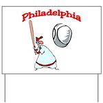 Philadelphia Baseball Yard Sign