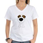 Big Nose Jack Women's V-Neck T-Shirt