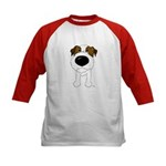 Big Nose Jack Kids Baseball Jersey
