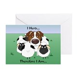 Aussie - I Herd... Greeting Cards (Pk of 20)